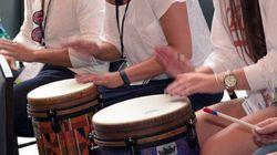 Groupe de percussionnistes recherché pour la naissance d'un bébé de