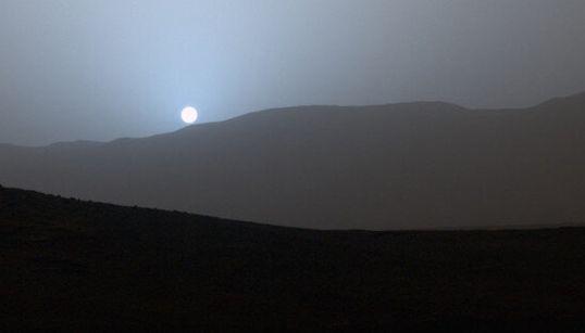 Voici à quoi ressemble un coucher de soleil sur
