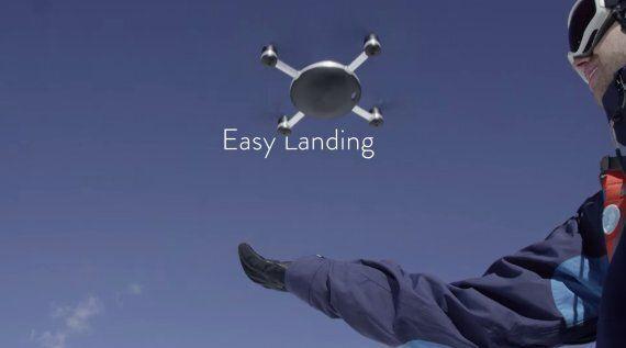 Lily Camera, le drone qui vous suit partout