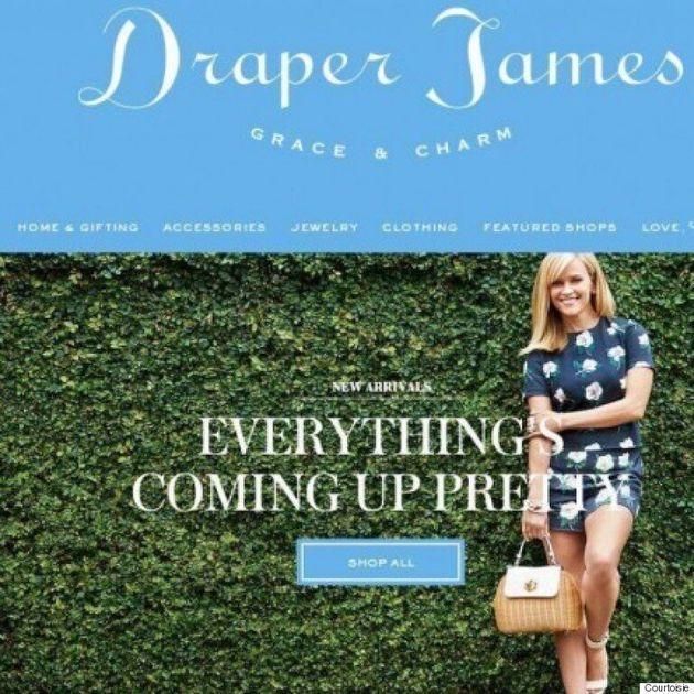 Reese Witherspoon lance son site de vente en ligne «Draper