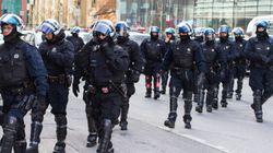Coderre satisfait des policiers lors des