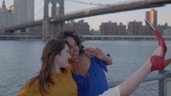 Le «soulier selfie»: nouvelle tendance ou poisson d'avril?