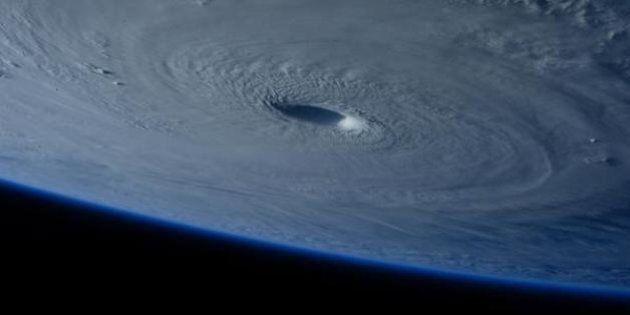 De spectaculaires images du super-typhon Maysak prises depuis l'espace