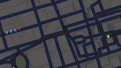Jouez à Pac-Man dans votre ville avec Google Maps!