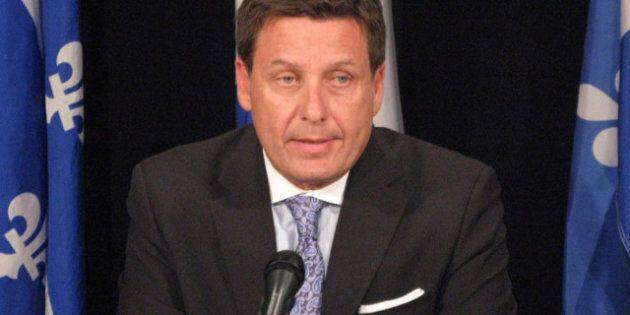 Protester contre le projet sur les régimes de retraite, une perte de temps, selon le ministre Pierre