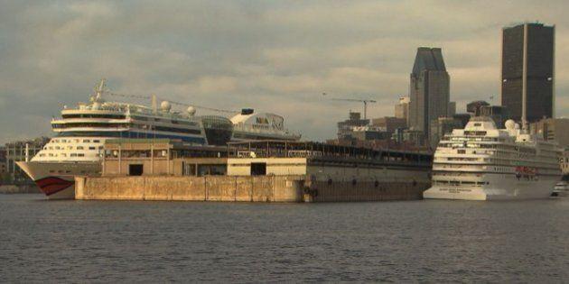 Port de Montréal : des croisières en vogue, mais un terminal