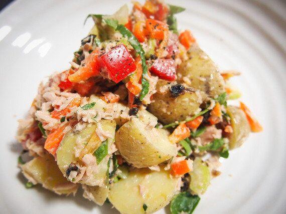 Recette santé: Salade de pommes de terre à la