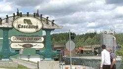 Dernière journée d'activités à l'usine de papier Kraft de Cascades à East Angus