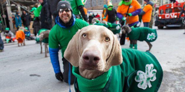 Grand défilé de la Saint-Patrick à