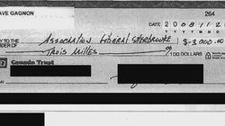 Encaissé, un chèque au PLQ mystérieusement