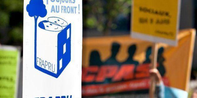 Logement social: Le FRAPRU manifeste samedi à Québec à l'aube du
