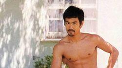 Cette photo de Bruce Lee fait bien