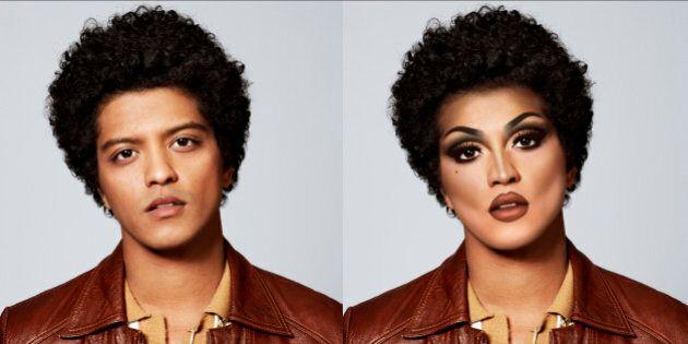 Ces stars transformées en drag queen par Christopher McParlan