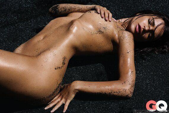 La mannequin Emily Ratajkowski nue en une du «GQ» américain
