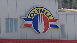 Grève à l'usine Olymel de