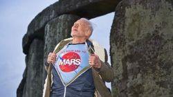 Buzz Aldrin: trop cool à Stonehenge