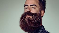 Ces hipsters ont des animaux dans la barbe
