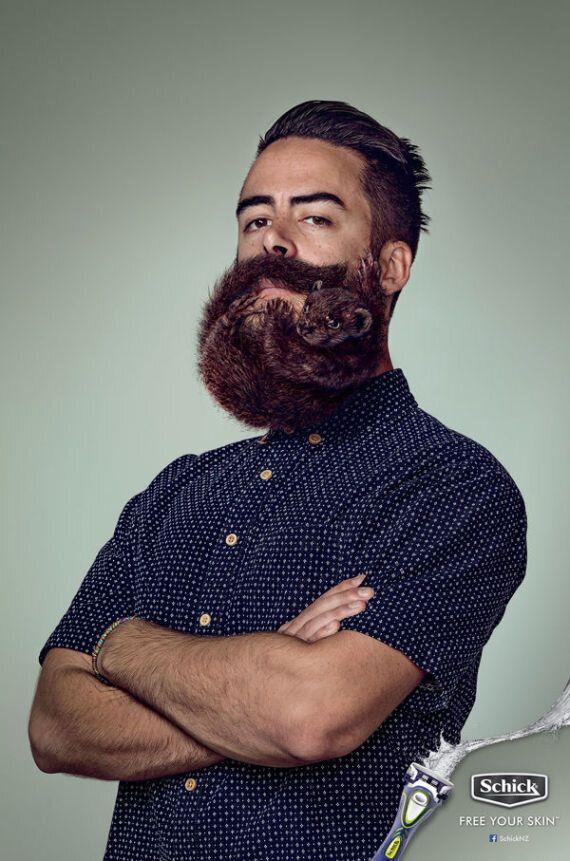 Insolite: la barbe taillée comme un petit animal redéfinit les standards hipster