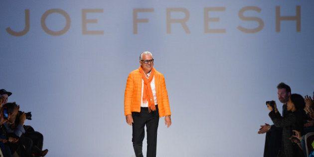 TORONTO, ON - MARCH 19: Designer Joseph Mimran presents Joe Fresh fall 2014 collection during World MasterCard...