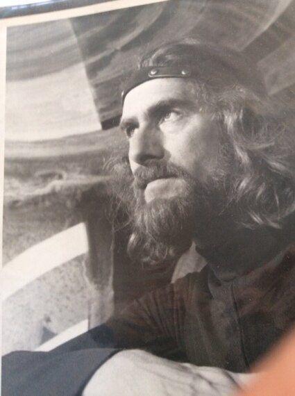 40 ans et des poussières plus tard, rencontre avec un peintre remarquable, Réal