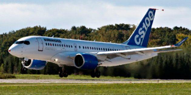 Bombardier: entente pour l'achat d'au moins 20 CS100 en