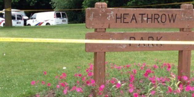 Une partie des restes d'un nouveau-né est retrouvée dans un parc de