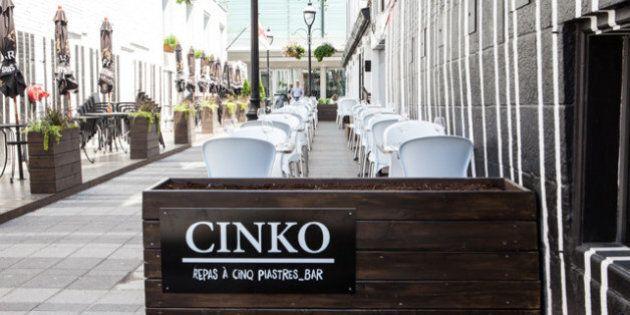 Cinko: pour une sortie au resto à 5