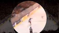 Une vidéo montre un joueur russe jeter son bâton dans la