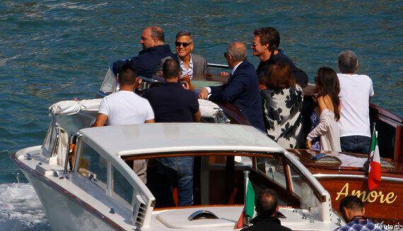 Mariage de George Clooney et Amal Alamuddin: leur dernière nuit de célibataires à