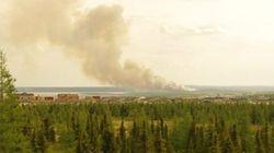 Feu de forêt près de Kuujjuaq: renforts aériens de la