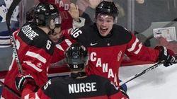 Le Canada défait les États-Unis pour terminer premier de la poule