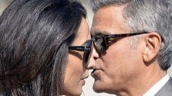 George Clooney et Amal Alamuddin sont arrivés à Venise pour leur mariage