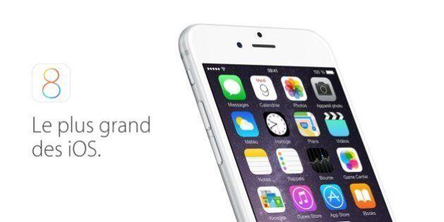 iOS 8 mis à jour par Apple pour corriger les bugs de la première