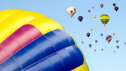 L'International de montgolfières de St-Jean débute : 450 000 visiteurs