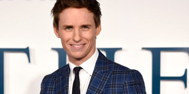 LONDON, ENGLAND - DECEMBER 09: Eddie Redmayne attends the UK Premiere of 'The Theory Of Everything' at...