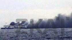 Un traversier en flammes sur la mer Adriatique: au moins un mort et un