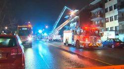Incendie majeur dans un immeuble résidentiel de Côte-des-Neige