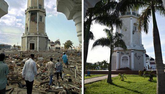 La métamorphose d'Aceh 10 ans après le tsunami