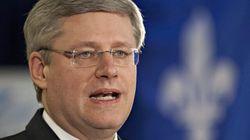 Harper au Québec: c'est maintenant ou