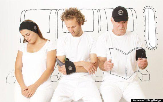 Le Napwrap, gadget ultime pour faire la sieste en avion