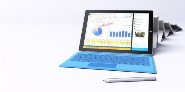 Le Surface Pro 3 de Microsoft pourrait vous faire oublier votre ordinateur portable