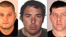 16 à 22 ans de prison pour les évadés d'Orsainville