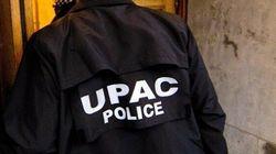Bilan de l'UPAC: 15 arrestations en