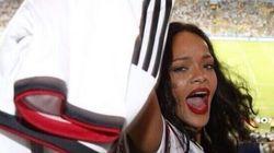 Mondial 2014: Rihanna aura soutenu à peu près toutes les équipes