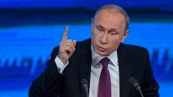 Poutine promet une sortie de crise en accusant l'Occident