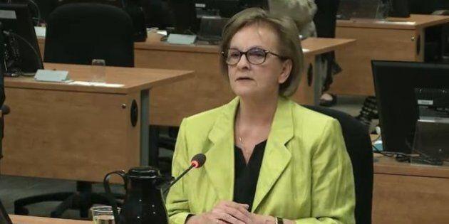 Commission Charbonneau: «Je suis fâchée, parce qu'on nous a bernés» - Violette Trépanier,