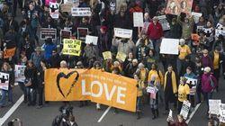 Grande marche pour les droits civiques à Washington