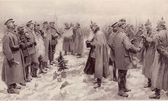Il y a 100 ans: les fraternisations des soldats de