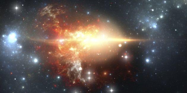Origine de l'univers: Et si le Big Bang avait créé non pas un mais deux univers, dont les temps s'écoulent...
