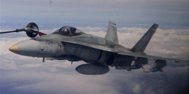 Les avions canadiens ciblent de nouveau le groupe armé État